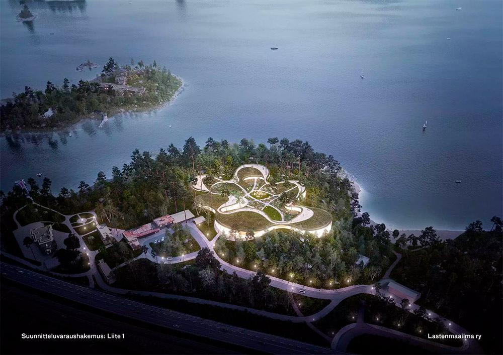 Muinaismuistojen ja suojeltujen rakennusten keskelle Espoon Karhusaareen aletaan suunnitella Lastenmaailma-teemapuistoa / HS 7.1.2019
